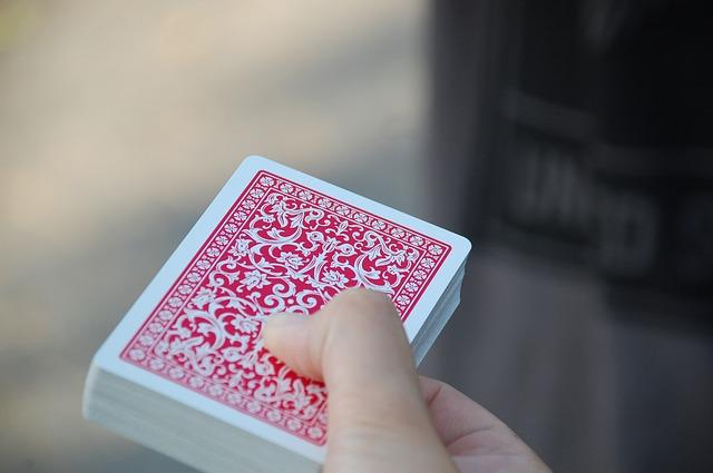 un jeu de carte prêt à etre tiré